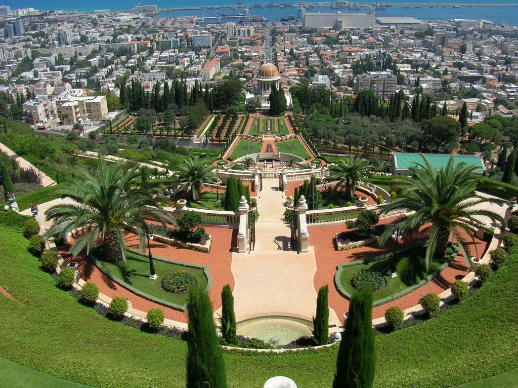 Israel Haifa Bahai Gardens