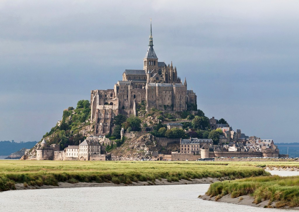 Mont St. Michel, Brittany France