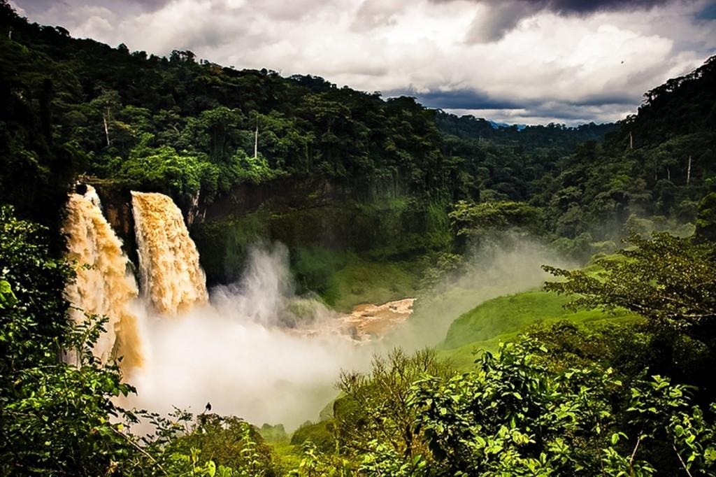 Ekom Falls, Cameroon