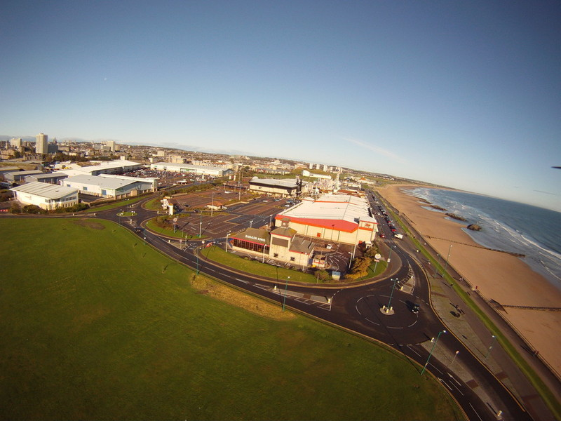 Aberdeen Beach and Queens Links