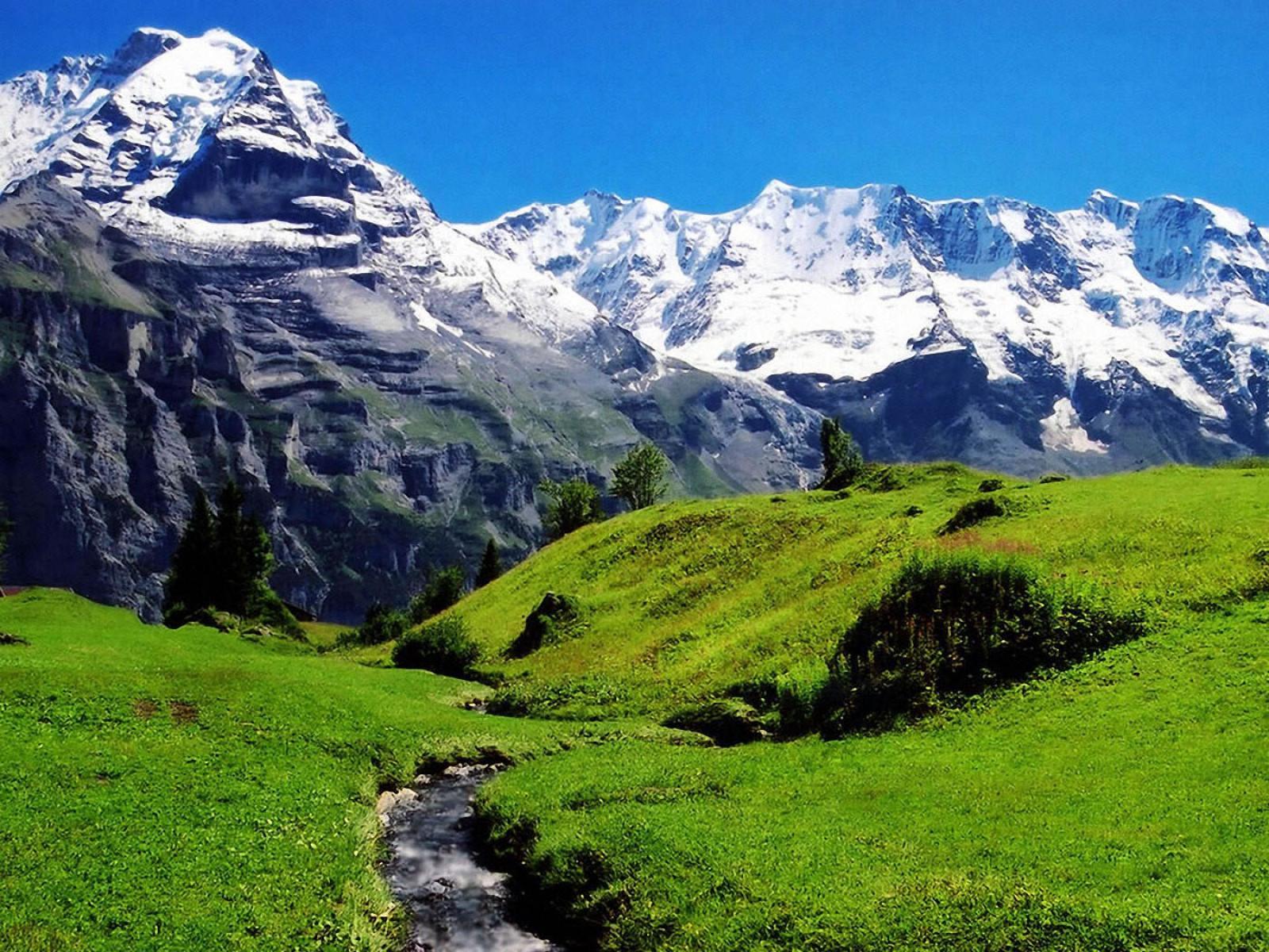Alps Mountain, Liechtenstein