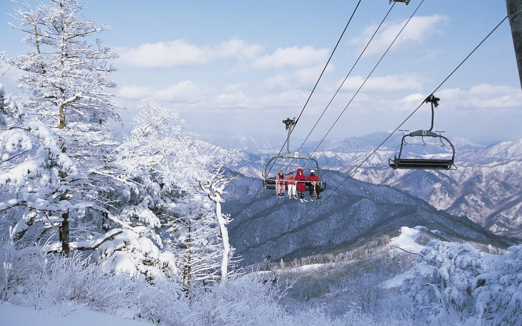 Alps Ski Resorts, South Korea