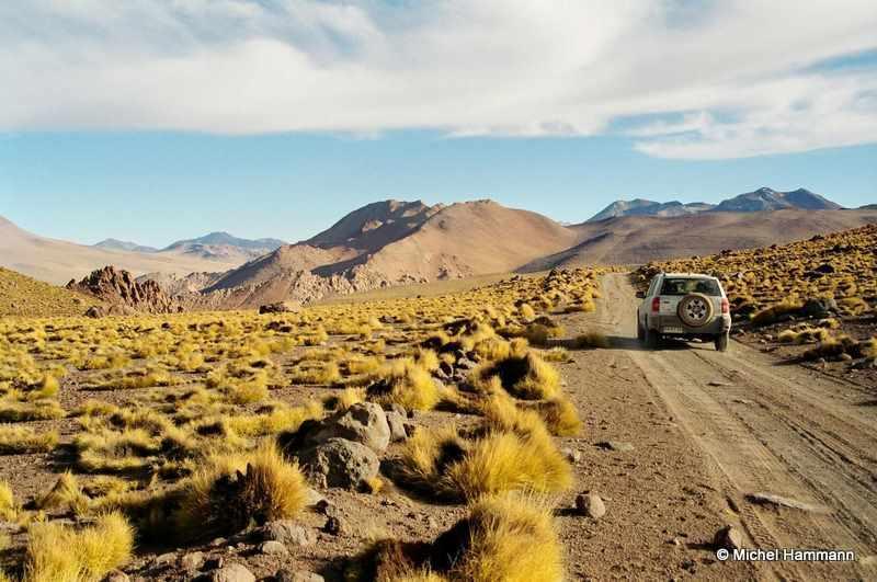 Arid Atacama Desert, Chile