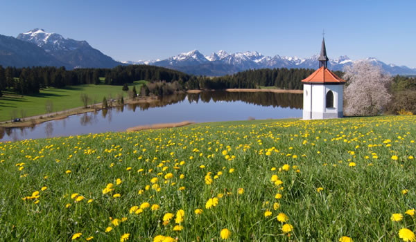 Bavarian plains, Germany
