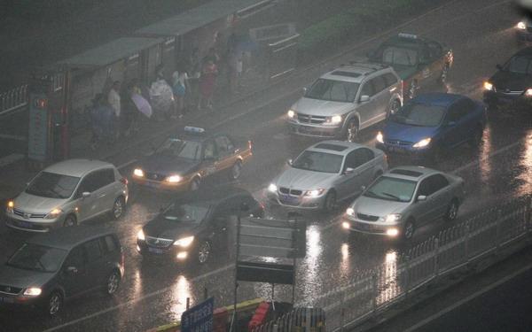 Beijing rain