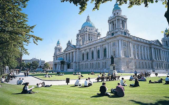 Belfast city, UK