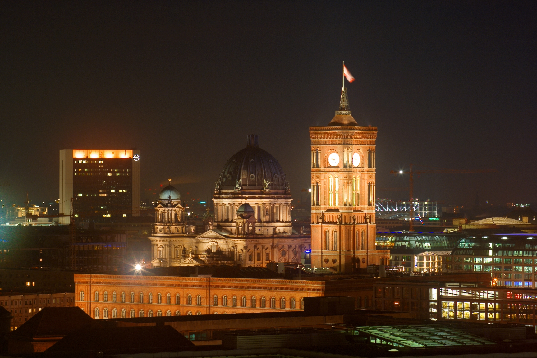 Berlin Skyline in Germany