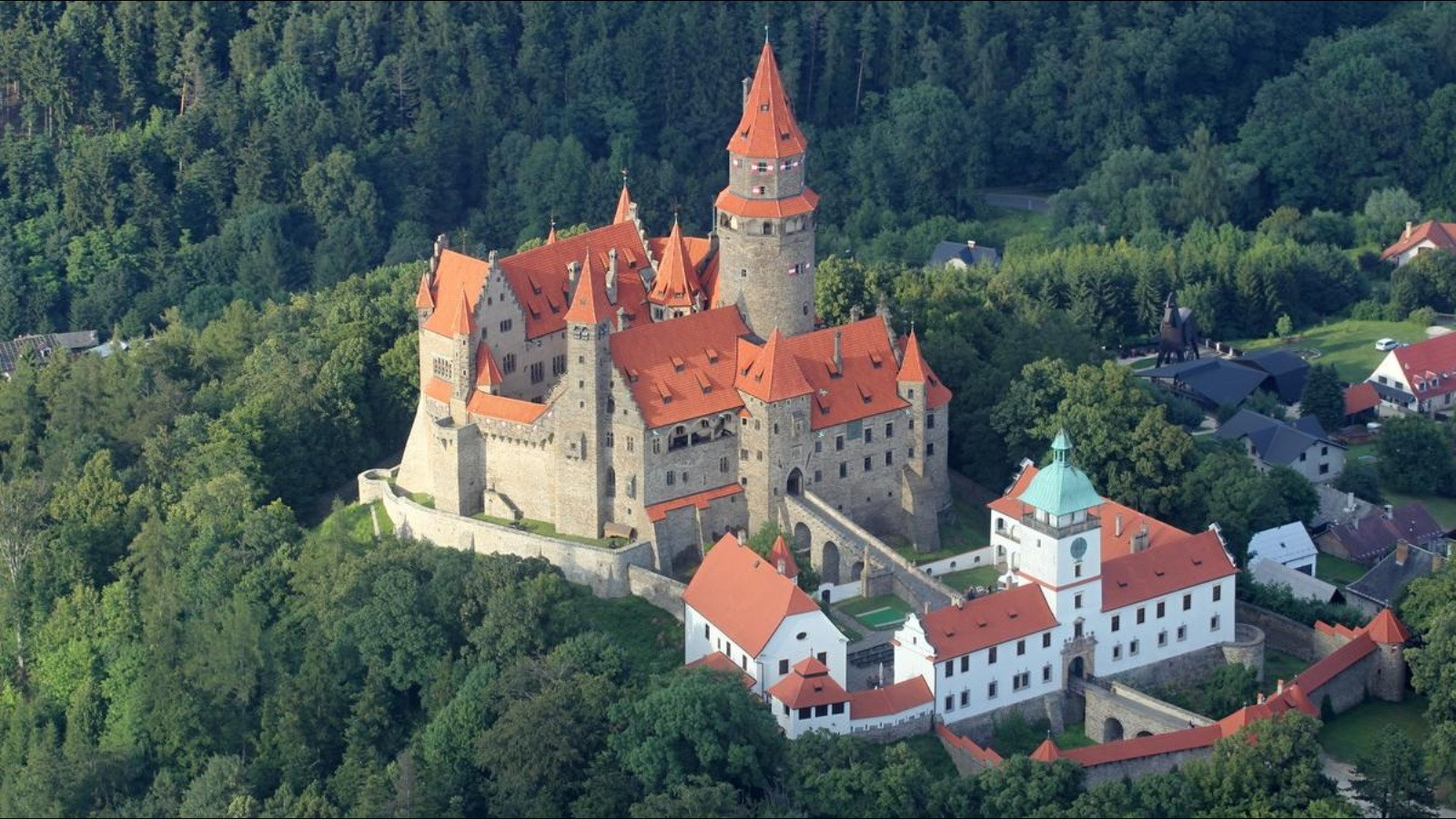 Bouzov Castle Czech Republic