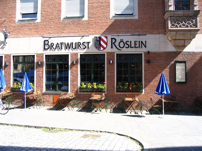 Bratwurst Roslein