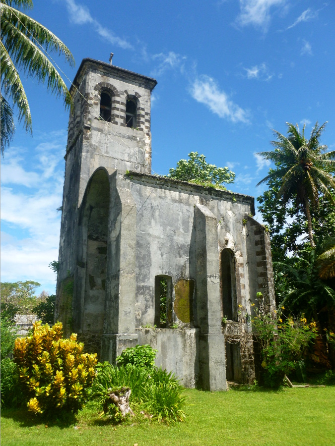 Catholic Bell Tower, Micronesia