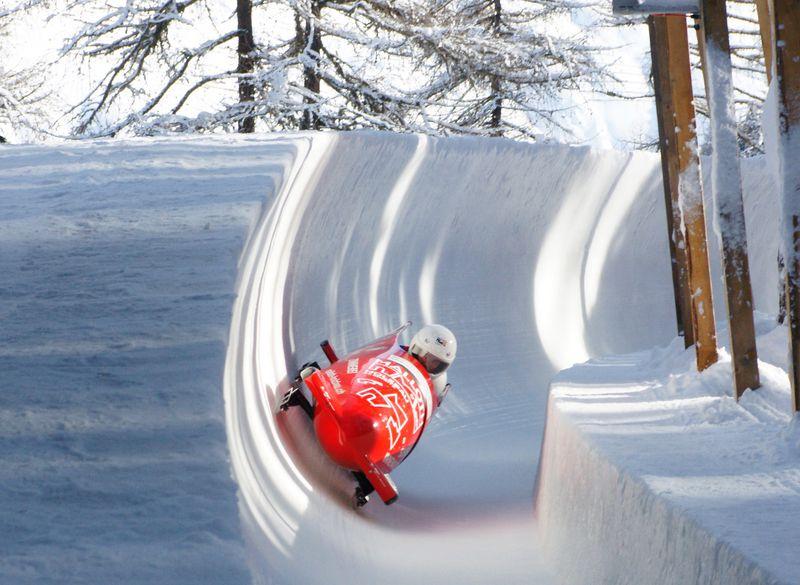 Celerina Olympic bobrun
