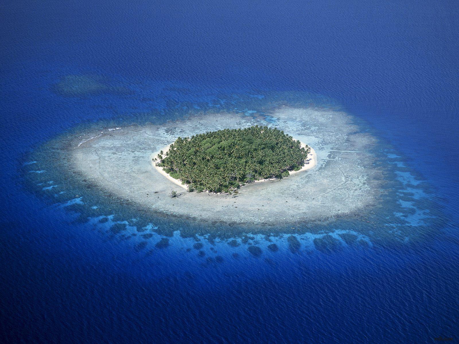 Coral reefs, Micronesia