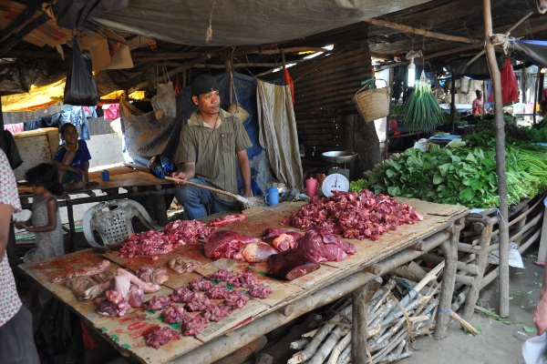 Dili market, East Timor