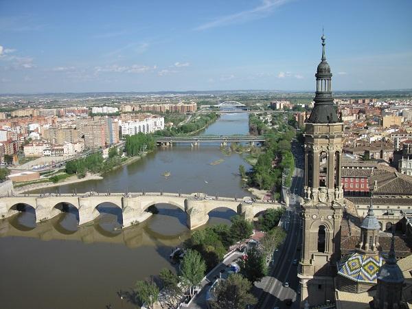 Ebro in Zaragoza