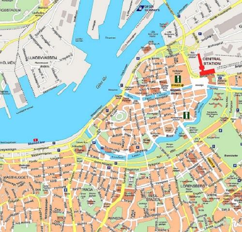 Gothenburg Map
