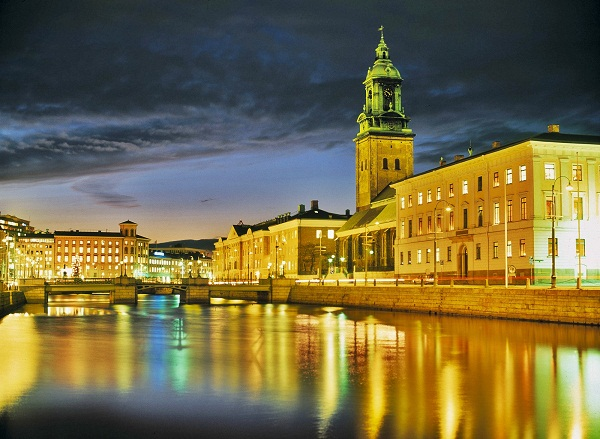 Gothenburg at Night