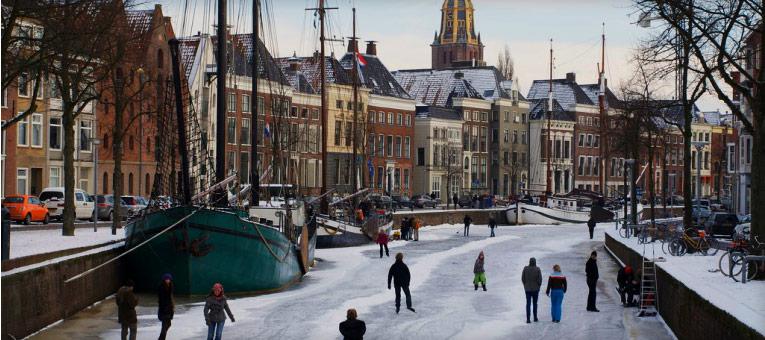 Groningen City, Netherlands