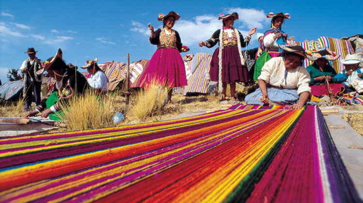 Indigenous Markets and Inca Fortresses, Peru