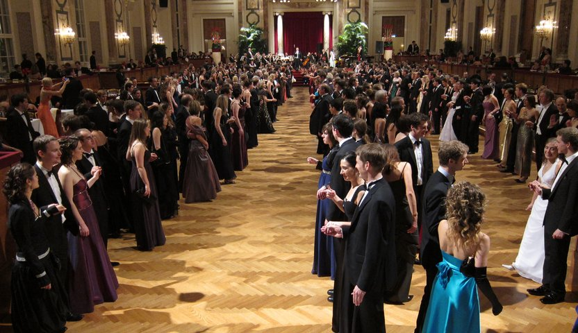 Johan Strauss Ball, Austria