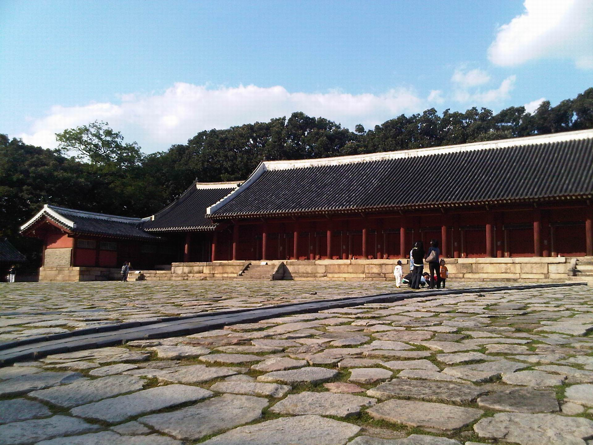 Jongmyo shrine, South Korea