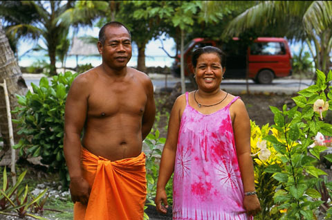 Kiribati People