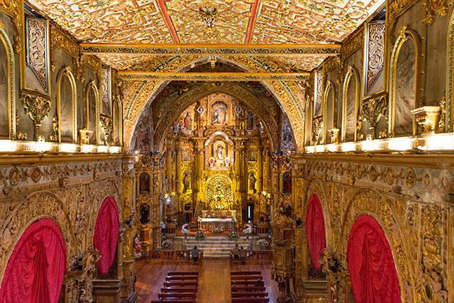 La Compañia Church, Ecuador