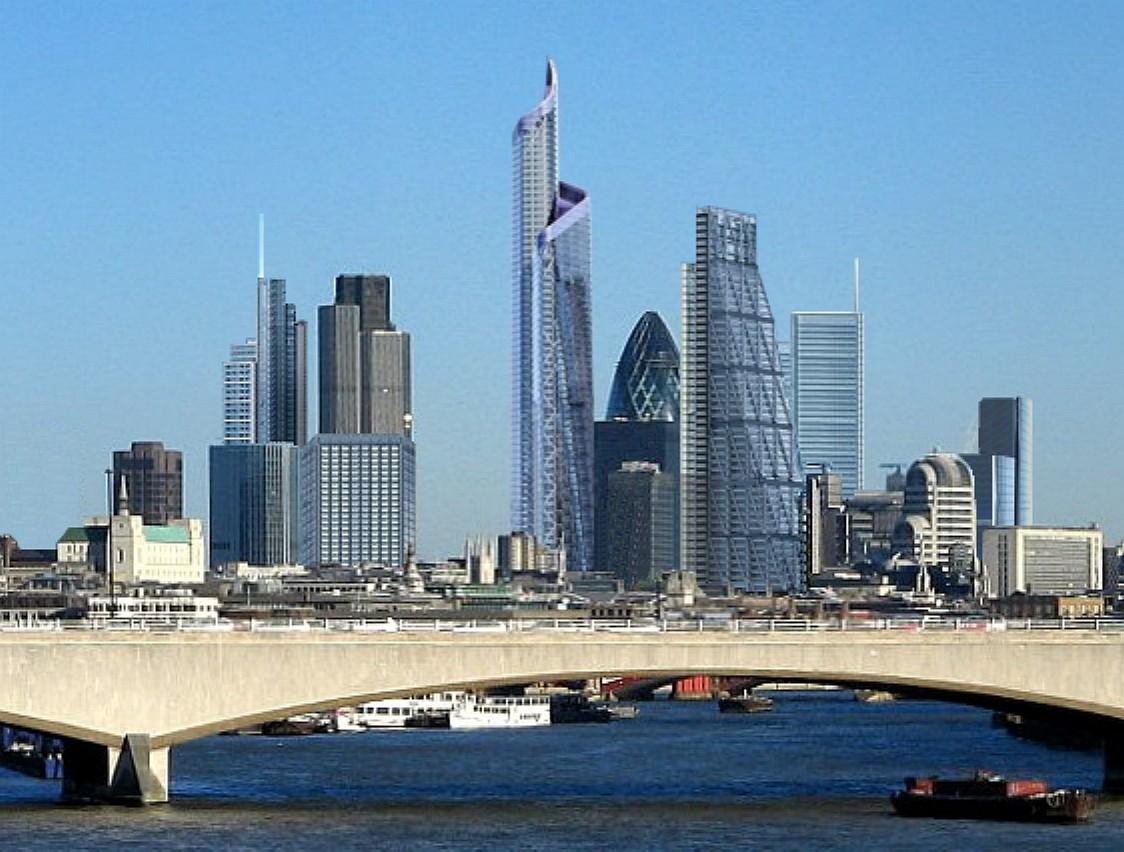 London Skyline in United Kingdom