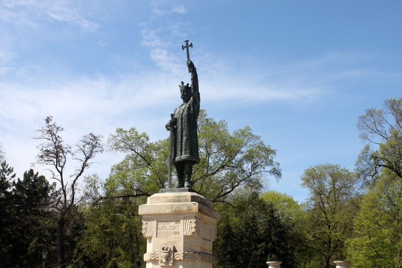 Monument of Stefan, Moldova