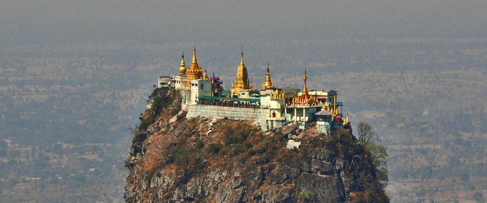 Mt. Popa, Burma