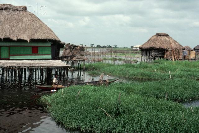 Nakoue lagoon, Benin