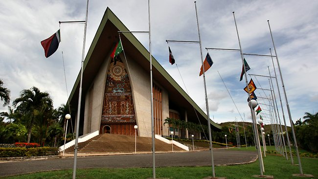 National Museum and National Parliament, Papua New Guinea
