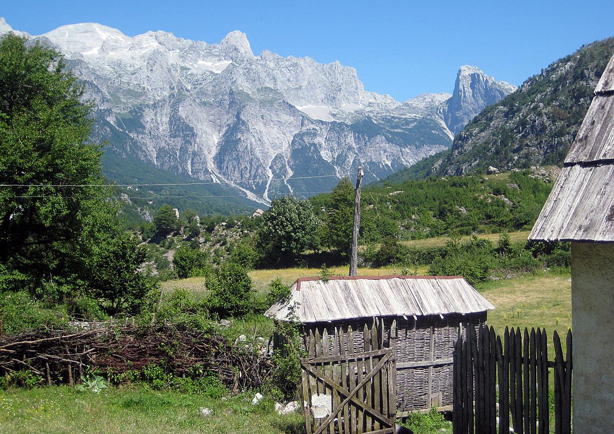 National park of Theth, Albania