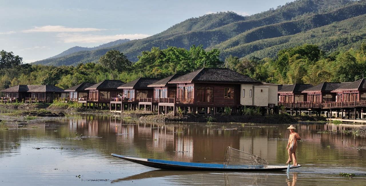 Nyaung Shwe village, Burma