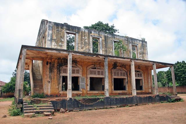 Ouidah town, Benin