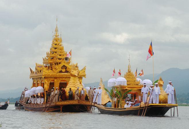 Phaungdaw Oo, Burma