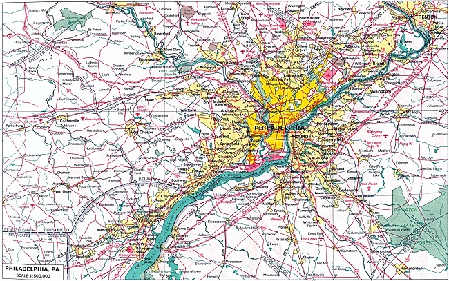 Tourist Attractions in Philadelphia – Tourist Map of Philadelphia