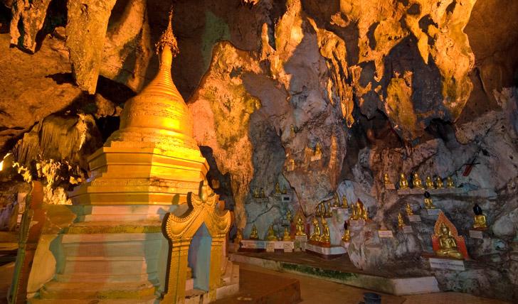 Pindaya Caves, Burma