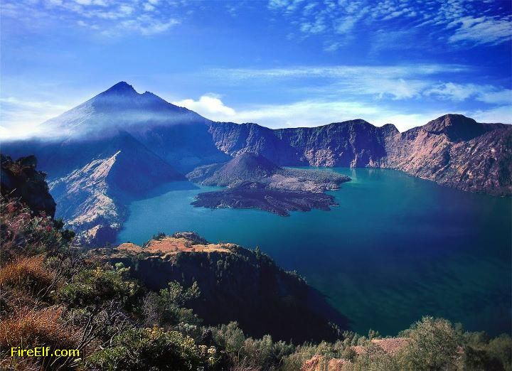Rinjani National Park, Indonesia