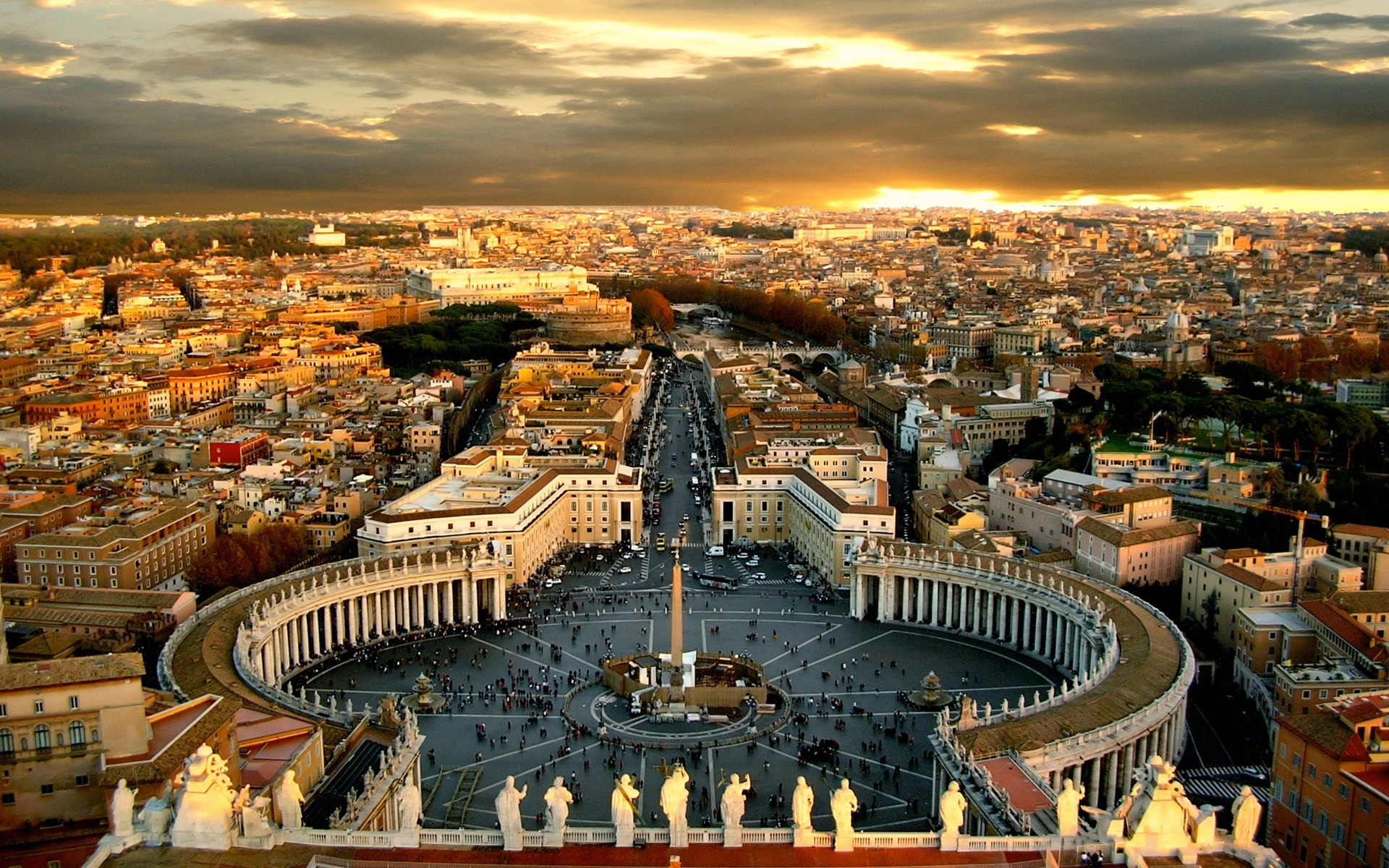 how to get to vatican city from rome