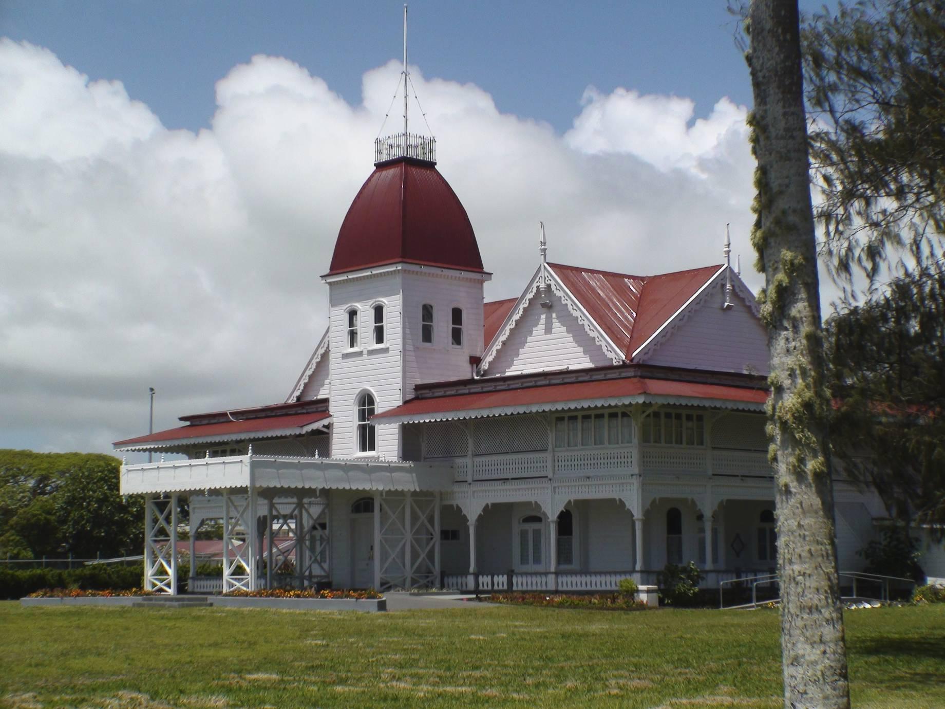 Royal palace Tonga