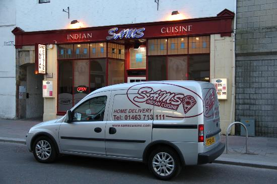 Sam's Indian Cuisine, Inverness