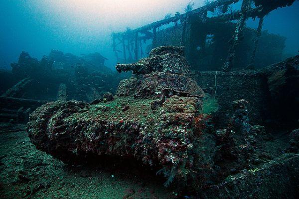 Shipwrecks, Micronesia