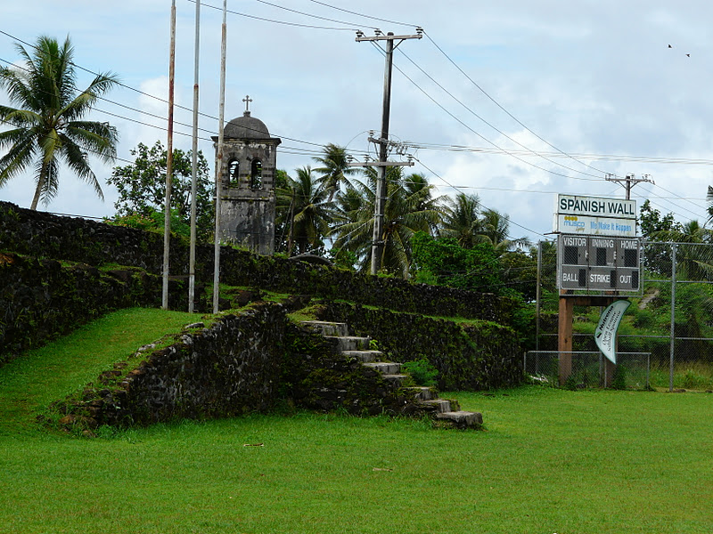 Spanish Wall, Micronesia