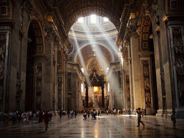 St. Peter's Basilica church, Italy