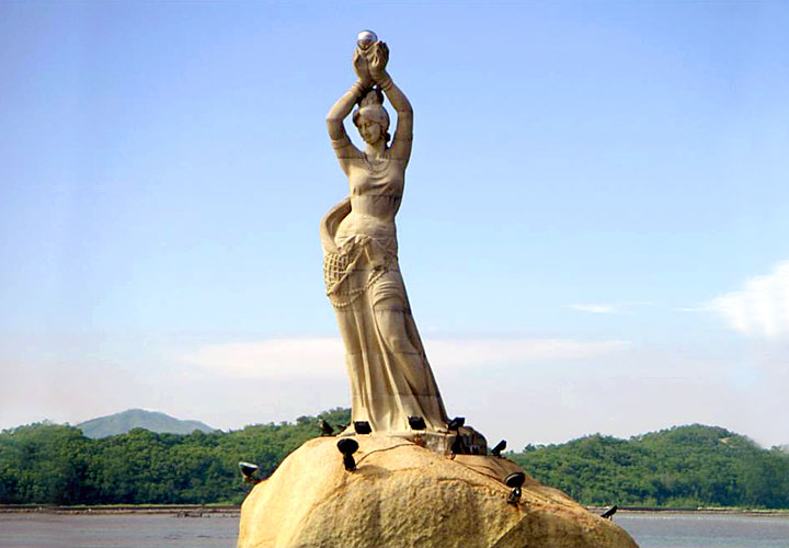 Statue of Fisher Girl
