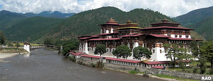Temple Paro-Punaka, Bhutan