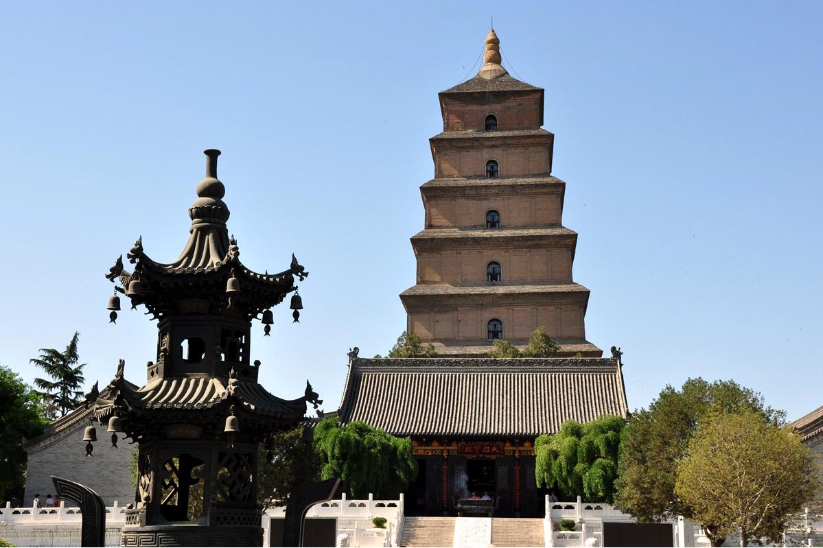 The Big Goose Pagoda, China