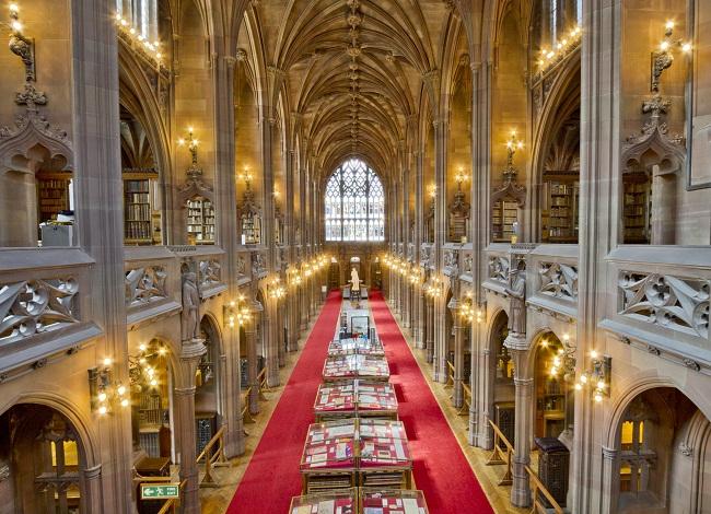 The John Rylands Library Inside