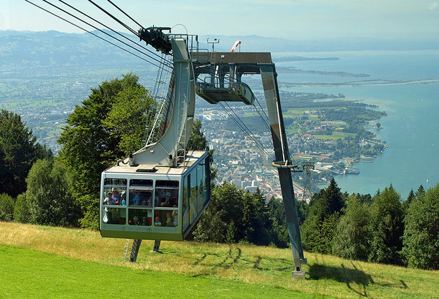 The Pfander Cable Car