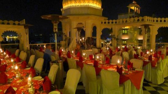 Udai Kothi Terrace Restaurant